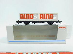 AW808-0-5-Maerklin-Marklin-H0-AC-48501-Containerwagen-Alno-DB-NEM-KK-NEUW-OVP
