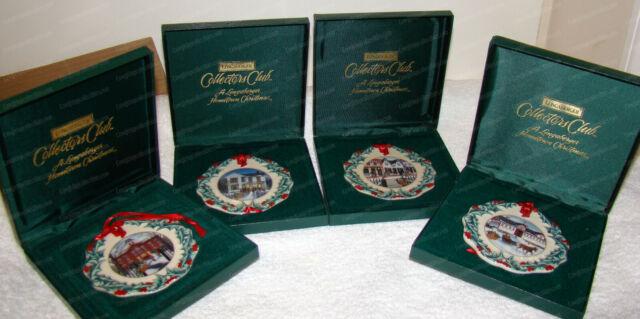 Longaberger Hometown Christmas Ornament's (Collectors Club ...