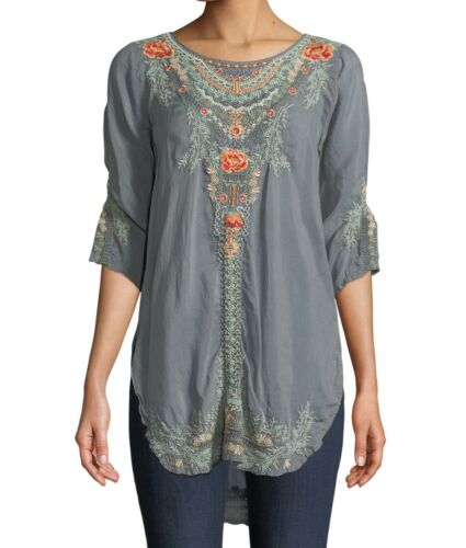 Johnny Was Olive Blossom Tunic C21318