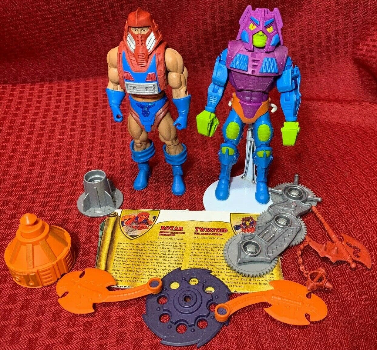 MOTUC, Twistoid & rougeor auquel, Masters of the Universe Classics, action figures