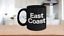 miniature 1 - East Coast Mug Black Coffee Cup Funny Gift for New York Girl Philly Proud North