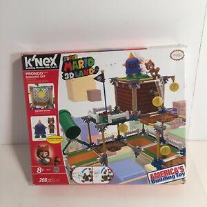 K'Nex Super Mario 3D Land Prongo Tanooki 38625 Nintendo Building Set Limited