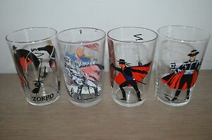 Verre-a-moutarde-glass-ZORRO-Disney-Productions