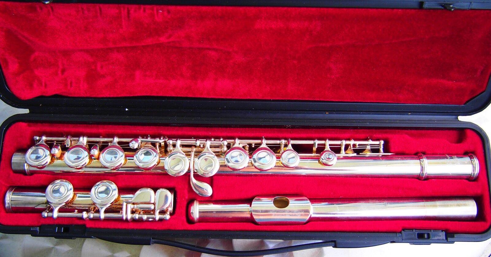 Yamaha YFL-211 Querflöte gebraucht Flute YAMAHA Flauta YAMAHA Flauti YAMAHA