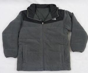 de88e732e9d1 NorthFace Boys KIDS Reversible True Or False Jacket Graphite Grey ...