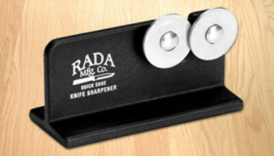 "RADA CUTLRY  R119 QUICK EDGE KNIFE SHARPENER MADE IN USA ""SHARP EASY CUTTING"""