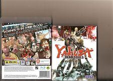 YAKUZA DEAD SOULS PLAYSTATION 3 PS3 ZOMBIES