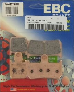 EBC Double-H Sintered Front Brake Pads for YAMAHA YZF-R1 2007-2014