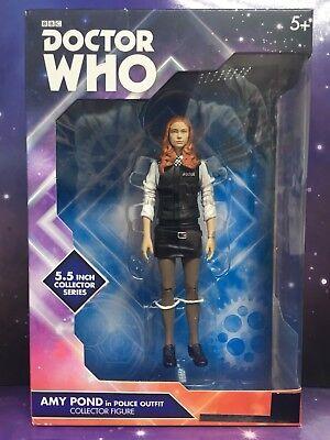 Doctor Who-compañero figura Amy Pond 11th DR Época Karen Gillan como la policía