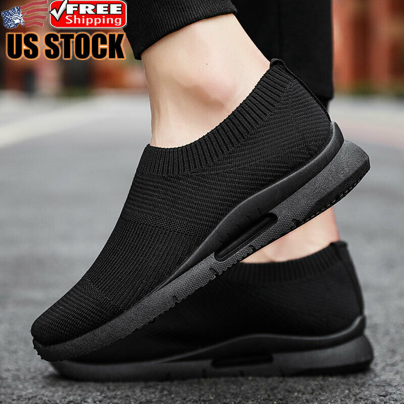 Men's Athletic Casual Sneakers Breathable Lightweight Tennis Running Shoes Gym
