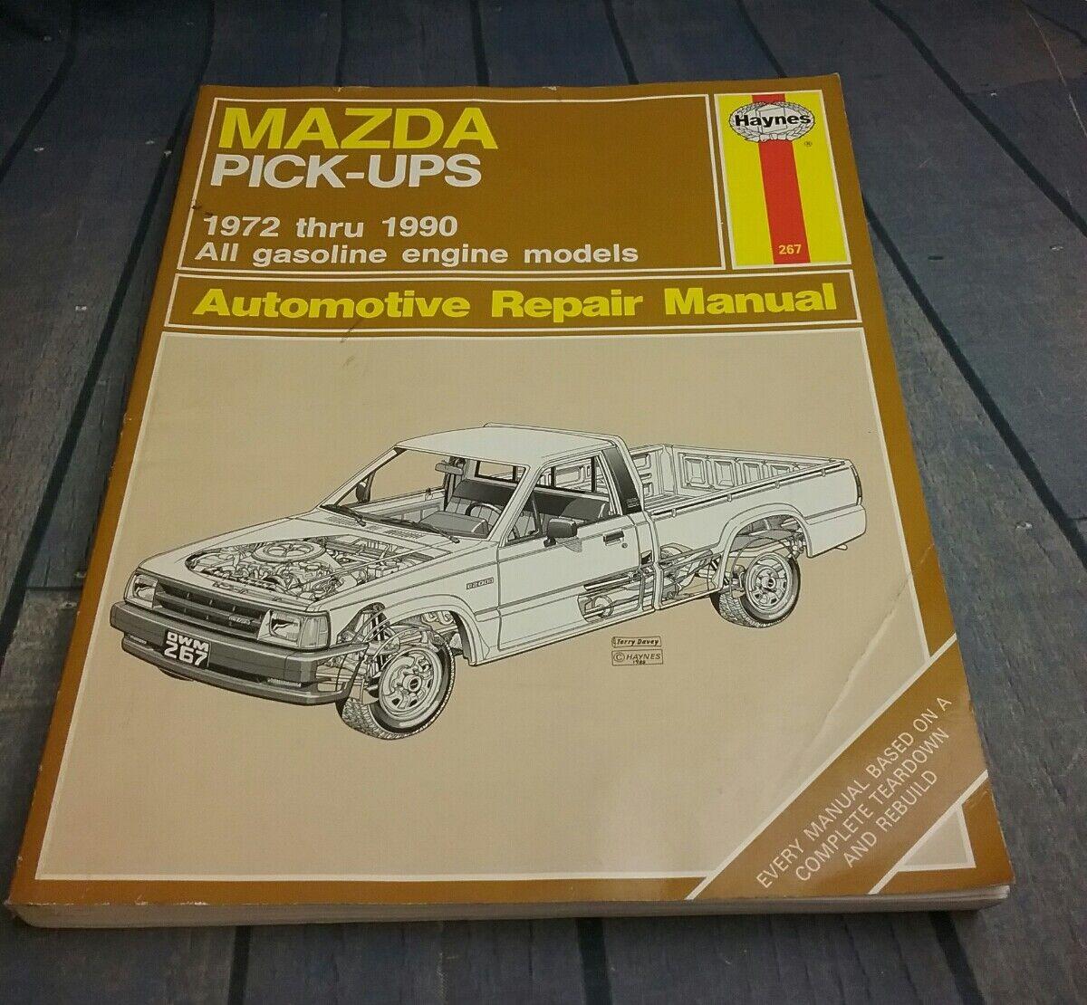 Repair Manual Haynes 267 Fits 82 84 Mazda B2200 Ebay Saturn Vue Diagrams Stock Photo