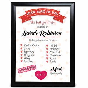 Personalised-Gifts-Girlfriend-Christmas-For-Her-Framed-Card-Present-Best-Award