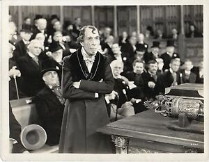 DISRAELI-1929-GEORGE-ARLISS-Prime-Minister-House-of-Commons-MACE-10x8-STILL