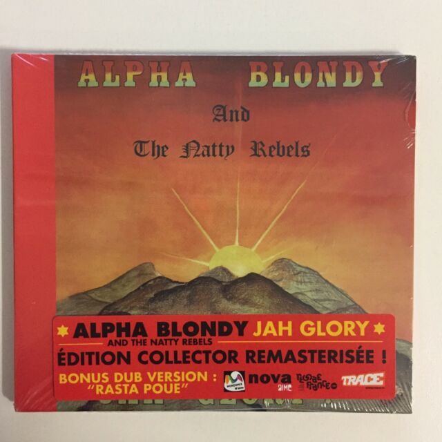 Alpha Blondy and the Natty Rebels Jah Glory CD 9 Tracks Blister Pack New