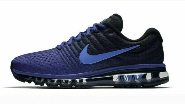 Nike Air Max 2017 Mens Running Lifestyle Shoes 849559 401 Deep Royal Blue Cobalt