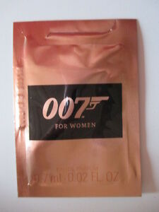 007 for women Eau de Parfum Probe NEU/OVP - D, Deutschland - 007 for women Eau de Parfum Probe NEU/OVP - D, Deutschland