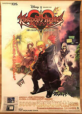 Kingdom Hearts 358/2 Days RARE NDS 51.5 cm x 73 Japanese Promo Poster