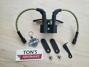 Details about HD Harley Davidson Sportster Complete Coil Key Tank Lift  Wires Relocation Kit v1