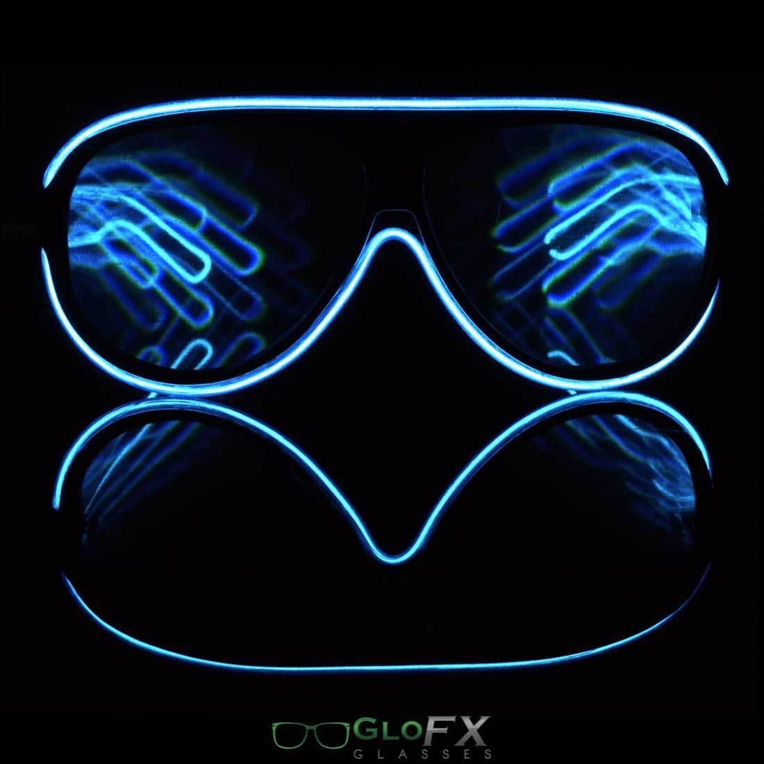 aviator glasses frames  aviator diffraction rave