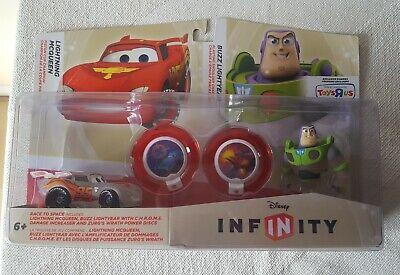 Disney Infinity Race to Space Lightning McQueen Buzz Lightyear New Toysrus