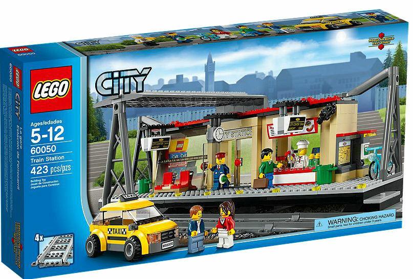 BRe nuovo Lego 60050 città Train Station Set  Rare MISB x 1  incentivi promozionali
