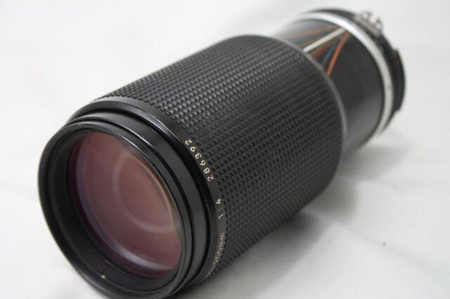 Nikon Zoom Nikkor 80-200mm 1:4 Ai-s Lens #JP019b