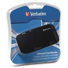 Verbatim 97705 15-in-1 USB Ext Flash Reader CF MS Duo MagicGate SD SDHC miniSD