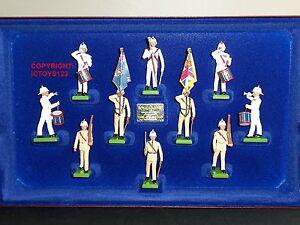 Britains 5289 British Royal Marines édition limitée Metal Toy Soldier Figure Set