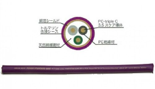 NEW Acoustic Revive POWER STANDARD-tripleC8800 1m 1meter Cable From JP