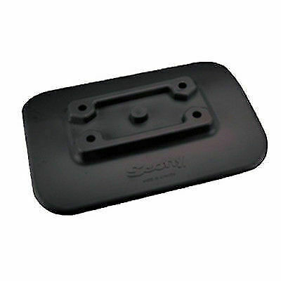 Scotty Glue-on Pad for Inflatable Boats Black for sale online