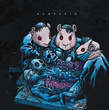 """ROMPEPROP / GUINEAPIG - split 12"""" EP - limited to 100 violet splattered vinyl"""