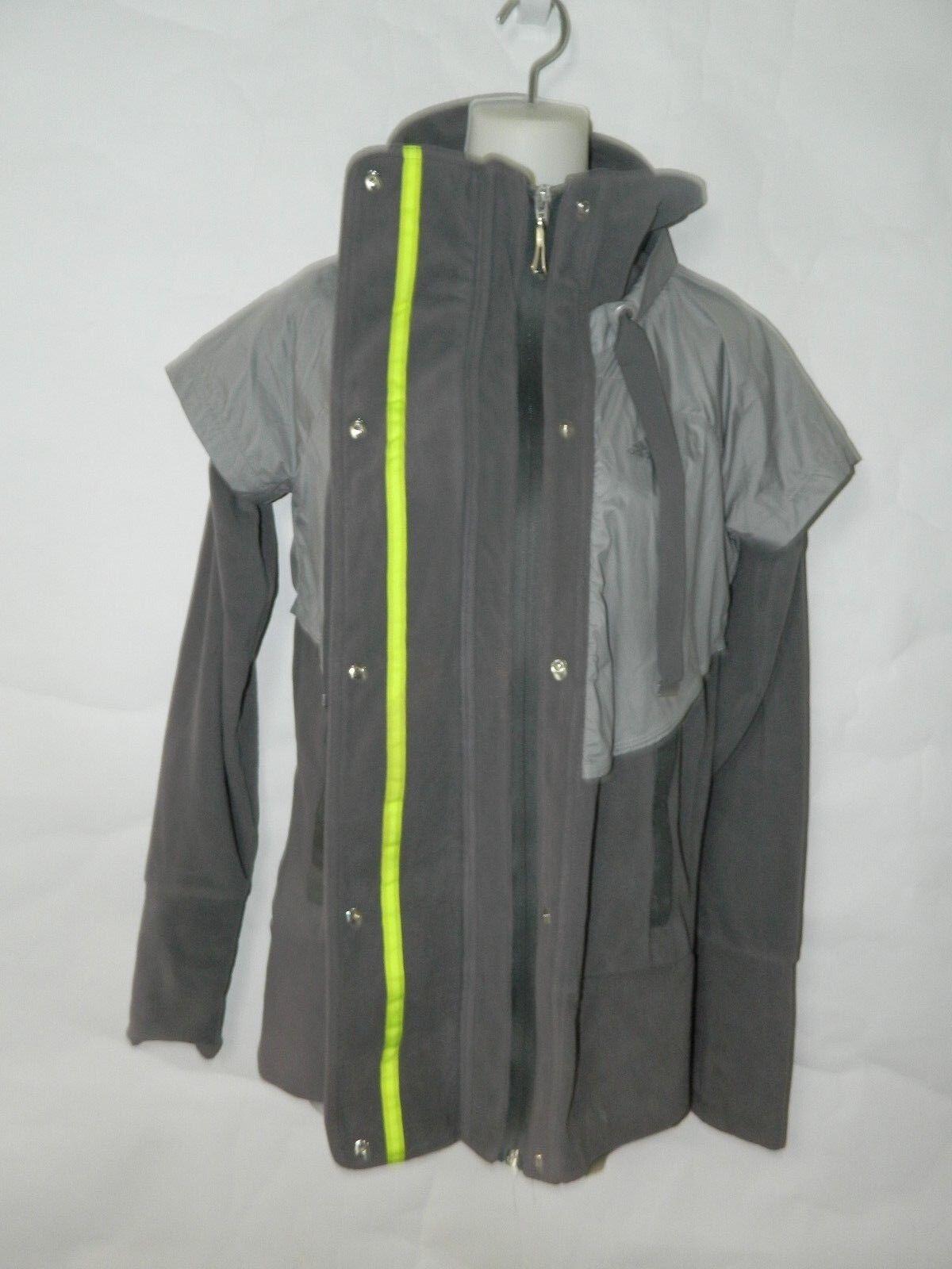Adidas giacca grigio clima caldo pile di nastro cravatta di pile dimensioni piccole. a9db0a