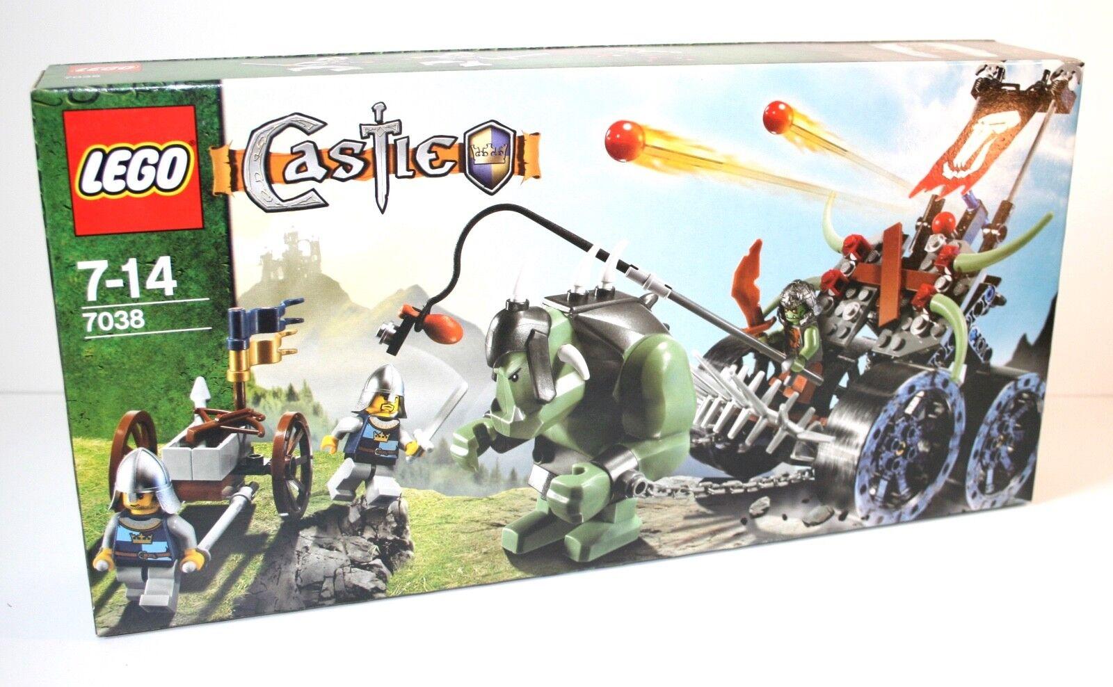LEGO ® Castle 7038 Troll-Attaque voiture ASSAULT WAGON Neuf neuf dans sa boîte En parfait état, dans sa boîte scellée 2008