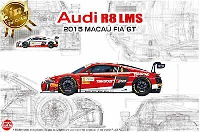 NuNu 1//24 Audi R8 R8 LMS GT3 2015 FIA GT3 World Cup model Kit PLATZ