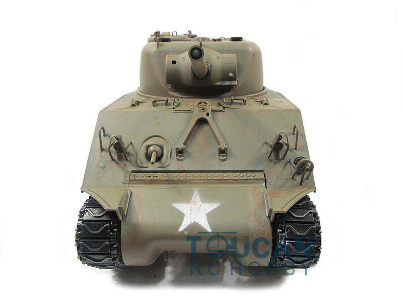 100% Metal Mato 1 16 M4A3  Sheruomo RC Tank Infrarosso Recoil Army verde 1230 KIT  negozio online