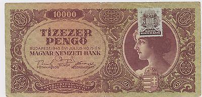 Pengo UNC 10,000 P-119a 1945 10000 Hungary