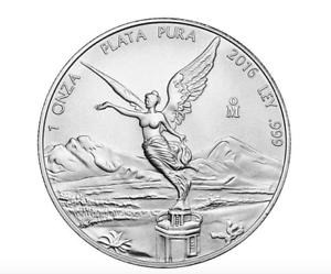 2013-Mexico-Fine-1-OZ-999-Silver-BU-Libertad-Bullion-Coin-NEW-FROM-SEALED-ROLL
