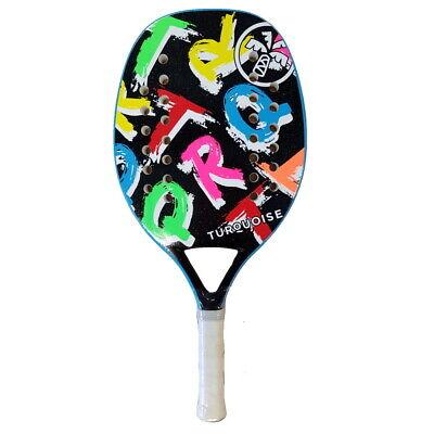 Schläger beach tennis Racket TURQUOISE Concept Schwarz 2020