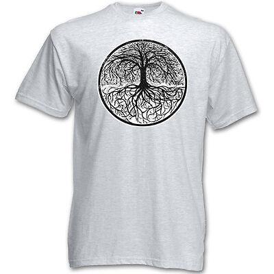 T-SHIRT YGGDRASIL TREE LOGO I - Celtic Irminsul Of Thor Life S M L XL XXL XXXL
