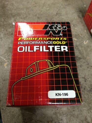 "3.819/"" High Polaris Ea K/&N KN-196 Oil Filter Powersports 2.689 O.D"