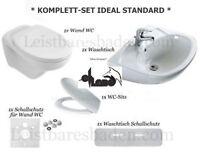 Komplett Set Ideal Standard Wand Wc Sitz Waschtisch 65 Cm Weiss Eurovit