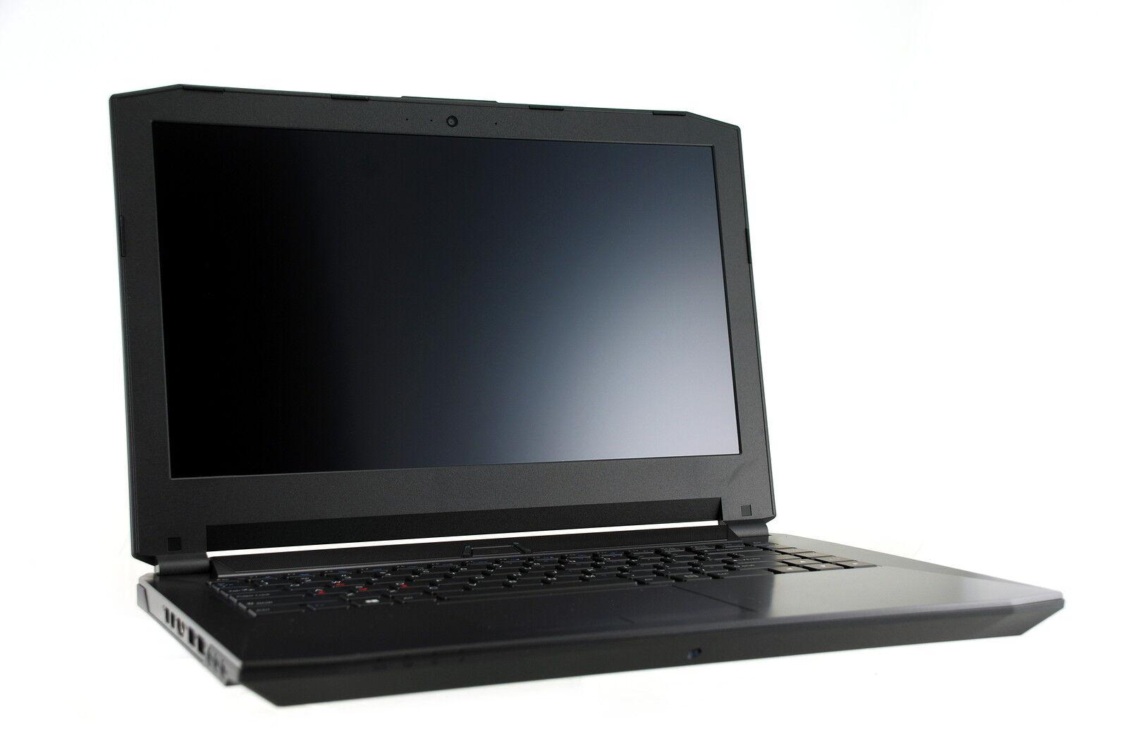 "Clevo P640RE Gaming Laptop;14"" FHD IPS;i7-6700HQ;GTX 970;1TB HDD;16GB RAM;Win10"