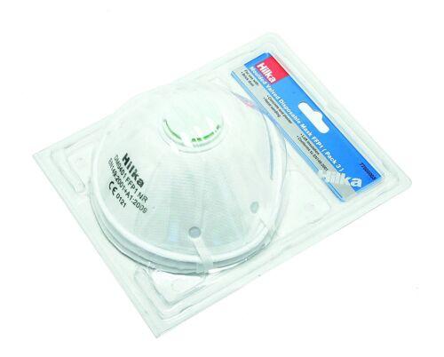 Hilka 77505003 FFP1 Moulded Valved Disposable Mask Set