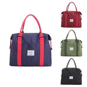 Details About Women Travel Shoulder Bags School Handbag Lightweight Canvas Work Tote Bag