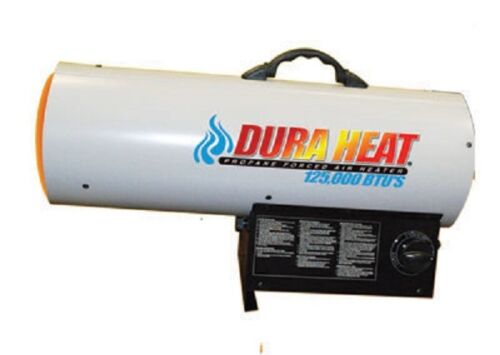 LP Forced Air Torpedo Heater Dura Heat GFA125A 70,000-125,000 BTU Propane