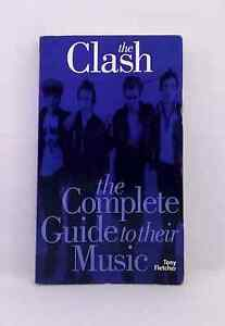 The-Clash-the-Complete-Guide-to-Their-Music-by-Tony-Fletcher-used-illustrated-PB