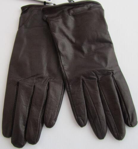Braun Nappaleder 6 Neu esmara Grösse Damen-Lederhandschuhe 8