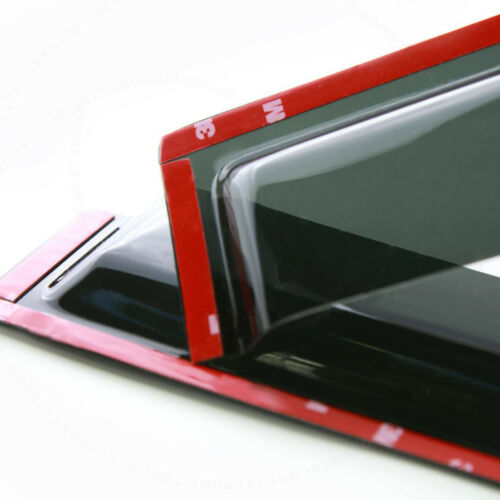 Fit 04-06 Toyota Tundra Double Cab 4pcs Sun//Rain Guard Vent Shade Window Visors