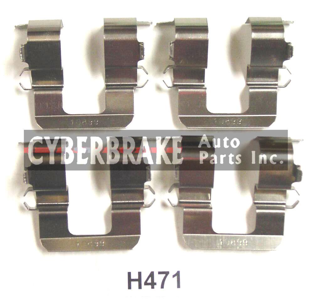 PCD471H REAR Premium Ceramic Brake Pads Fits  90-99 Subaru LegacyW//Hardware Kit
