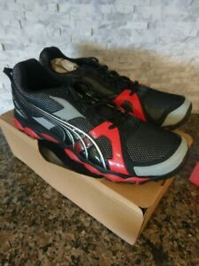 Fox Trail Running Shoes Black Red Size